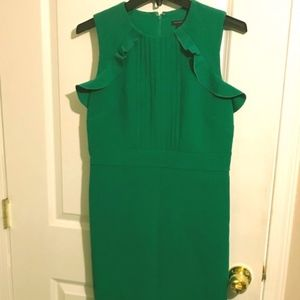 Brand new green Ann Taylor work dress